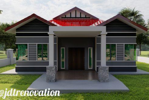 Projek Bina Rumah 6 Bilik 3 Bilik Air di Bandar Penawar Johor