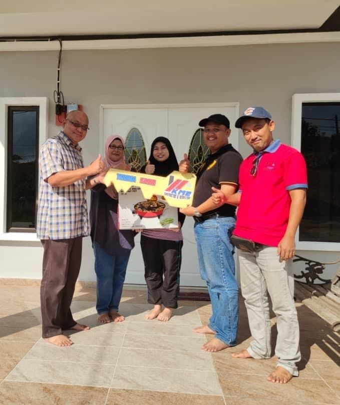 Projek Bina Rumah di Kg Maju Jaya Johor