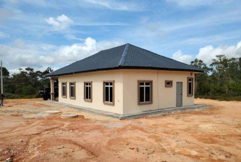 Projek Bina Rumah Kampung Lukut Kota Tinggi