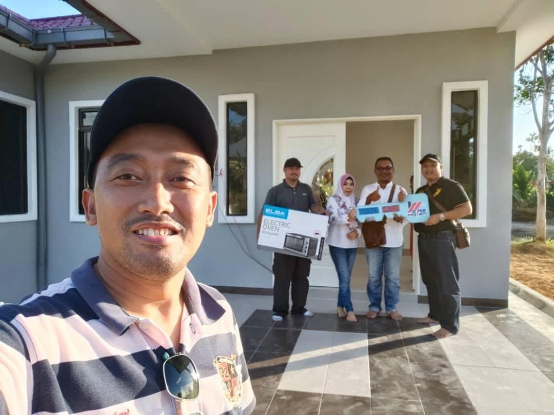 Projek Bina Rumah Di Felda Air Tawar 1 Kota Tinggi Johor