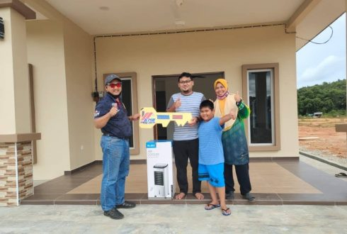 Projek Bina Rumah Kg Lukut Kota Tinggi Johor