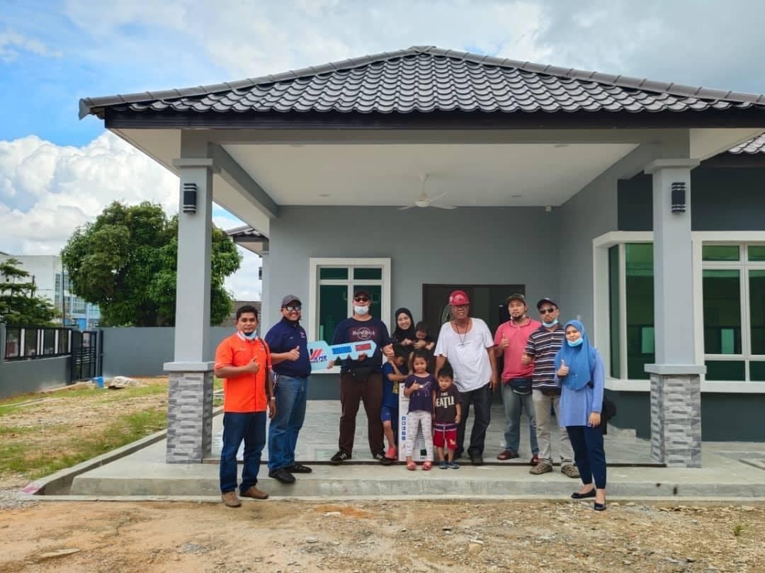 Projek Bina Rumah Kg Pasir Putih Pasir Gudang Johor