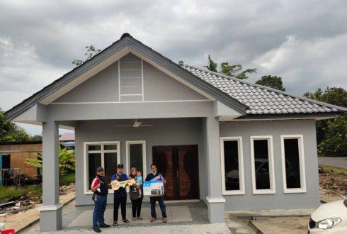 Projek Bina Rumah Bukit Panjang Pekan Nenas Pontian Johor