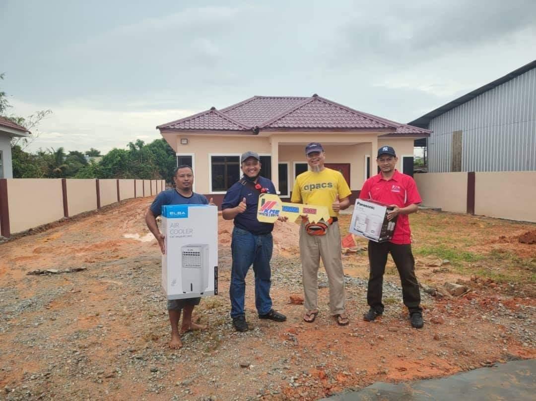 Projek Bina Rumah di Parit Sakai Muar Johor