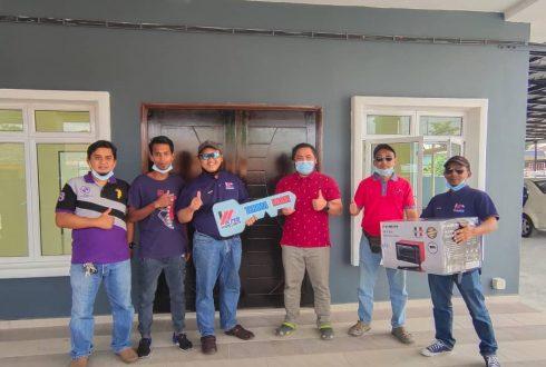 Projek Bina Rumah Taman Universiti Skudai Johor