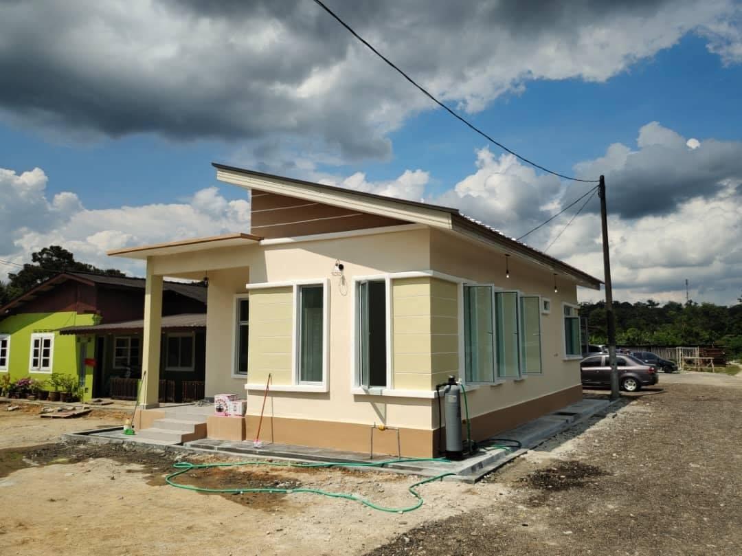 Projek Bina Rumah Sg Tiram Ulu Tiram Johor