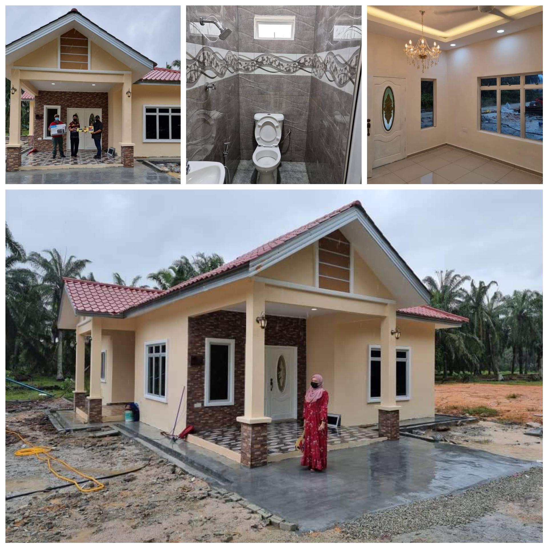 Projek Bina Rumah Di Peserai Batu  Pahat