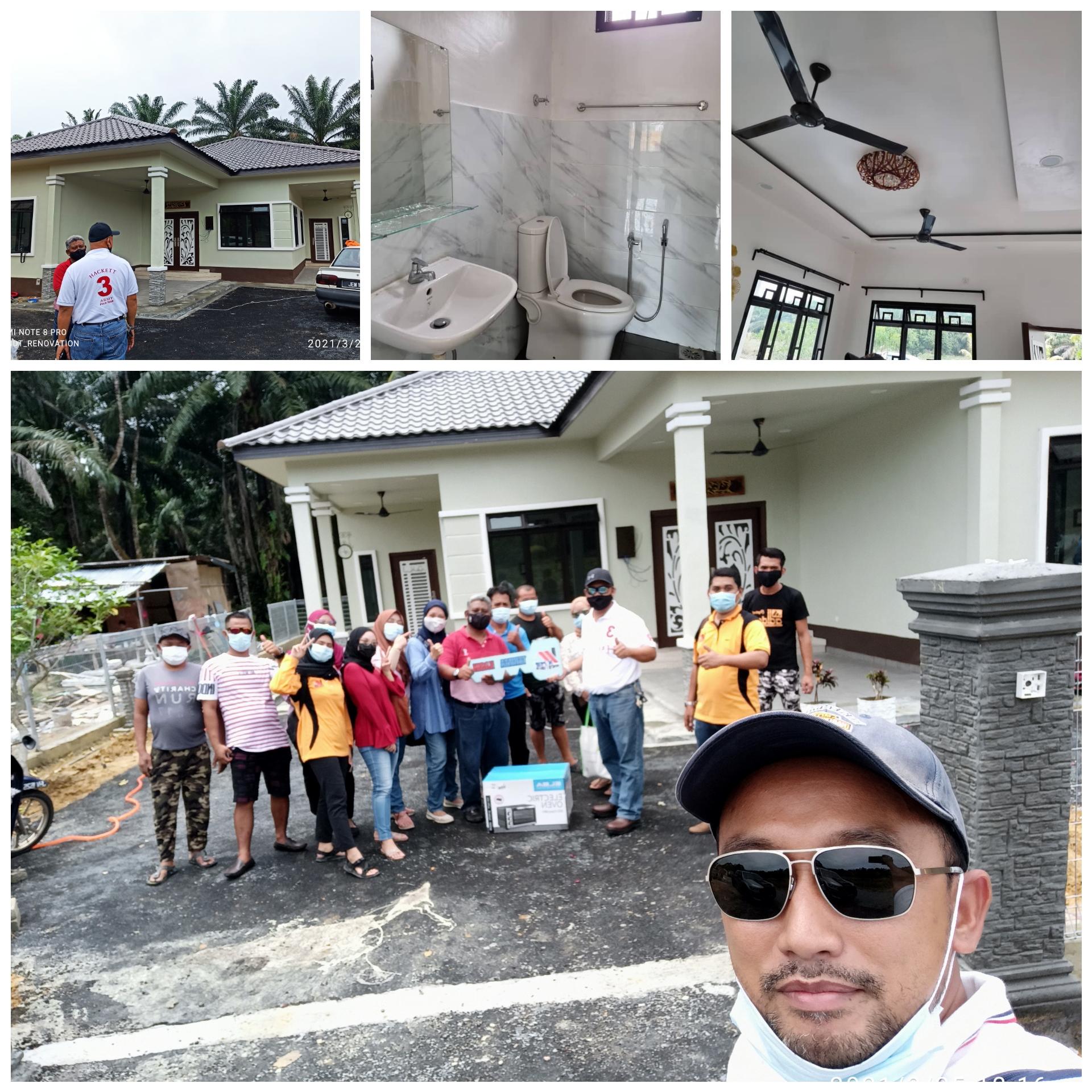 Projek Bina Rumah di Simpang Rengam