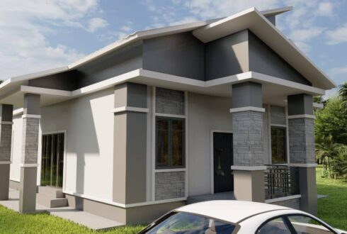 Perancangan untuk membina rumah yang kecil