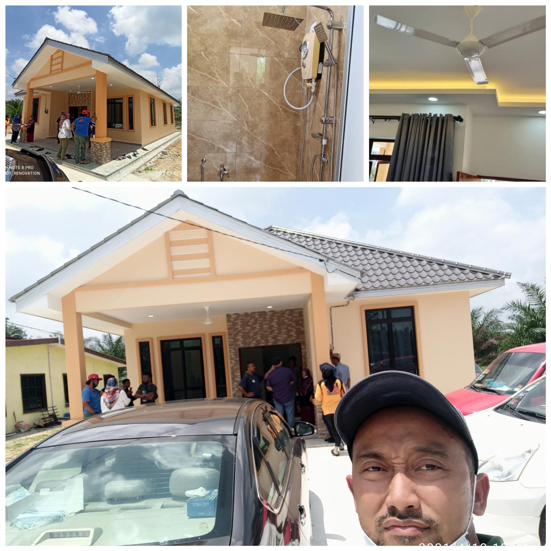 Projek Bina Rumah Di Kg Ulu Benut Simpang Rengam