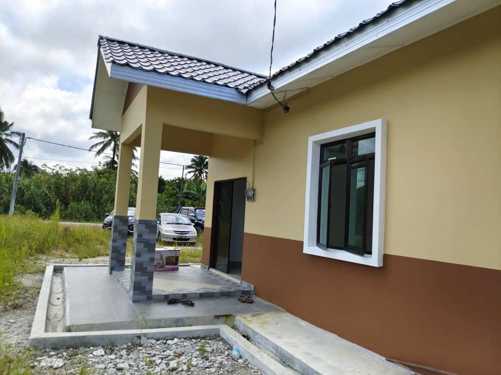 Projek Bina Rumah Kg Parit Ibrahim Simpang Rengam